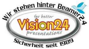 Wir stehen hinter Beamer24.de - Vision24 - Kompetent und Sicherheit seit 1989