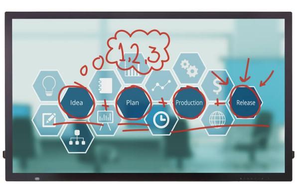 LG 55TC3D-B - FullHD Touch-Display mit 55Zoll, 450 cd/m², inkl. webOS