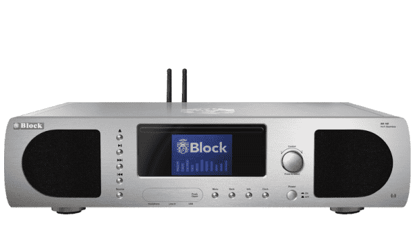 Block BB-100 MKII CD-Internet-Boombox