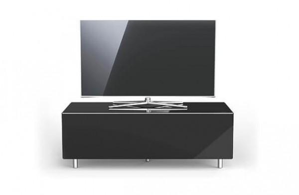 Spectral TV Möbel, schwarz, TV freistehend