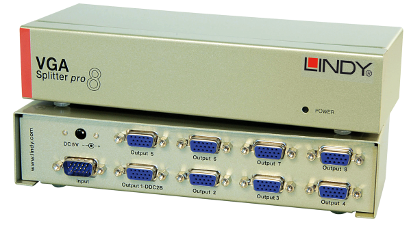 LINDY 8 Port VGA Splitter
