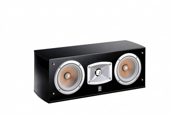 Yamaha NS-C444 Center-Speaker, Finish: Schwarz, 1 Stück