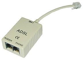 LINDY ADSL-Splitter, (3x RJ11)