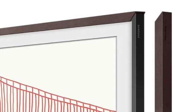 """amsung Zubehör: The Frame 55"""" VG-SCFA55BWBXC passend zu Modell 2021 braun"""