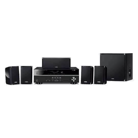 Yamaha HC-Set YHT-1840 (Set) Heimkino-Set, Finish: Schwarz