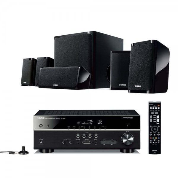 Yamaha MusicCast YHT-4940 EU Hifi-System, Finish: Schwarz