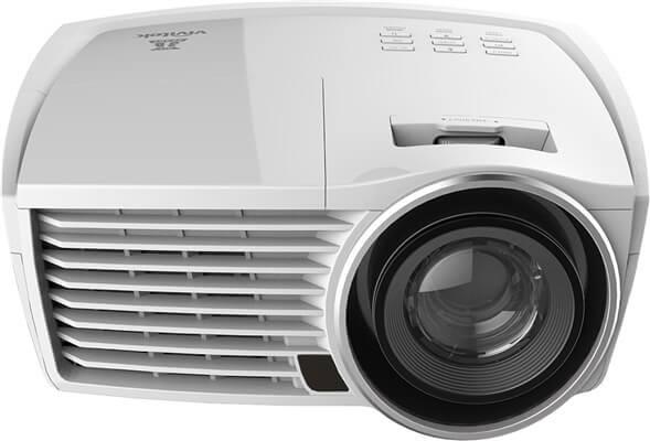 VIVITEK H1189 Bianco - FullHD Heimkino-Beamer mit ViividMotion Zwischenbildberechnung