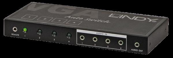 LINDY VGA & Audio Selektor 4:1