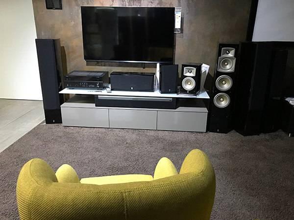 Spaß TV im Wohnzimmer