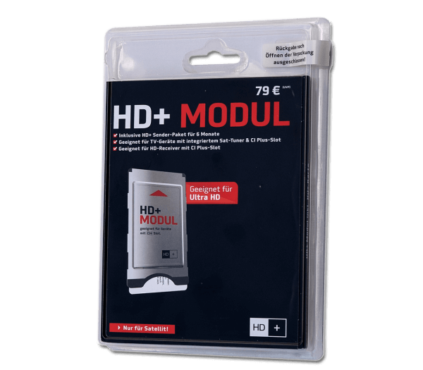 HD+ Modul mit Karte 6 Monate HD+, HD & Ultra HD