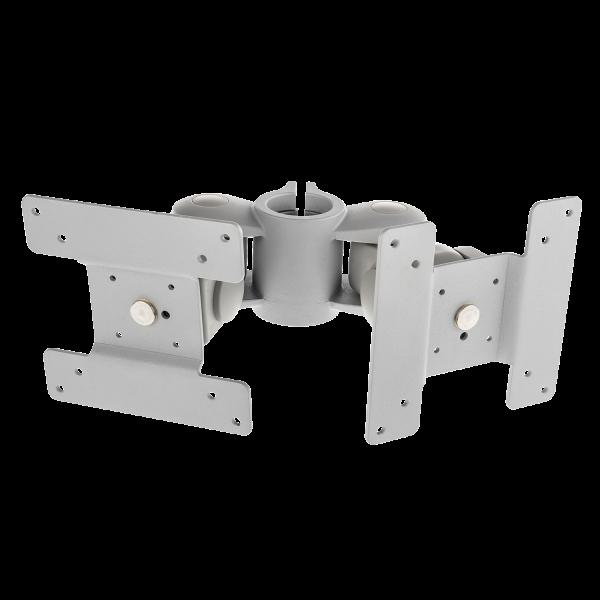 LINDY LCD-Dual-Monitorarm, modular, Rücken an Rücken