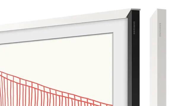 """Samsung Zubehör: The Frame 55"""" VG-SCFA55WTBXC passend zu Modell 2021 Rahmen weiss"""