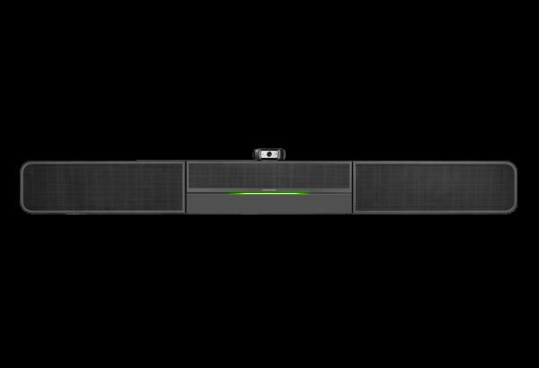 Crestron Soundbar UC-SB1-AV mit externer Webcam für Videokonferenzen