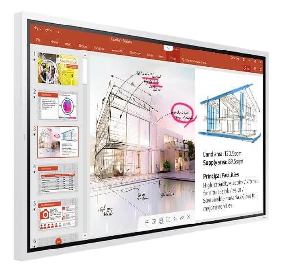 """SAMSUNG Flip 65"""" WM65R-W LED-Display"""