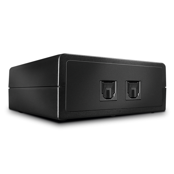 LINDY Automatischer optischer 2 Port Audio Switch