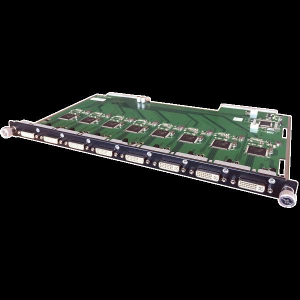 LINDY Modulares 8 Port DVI-D Single Link Eingangsboard
