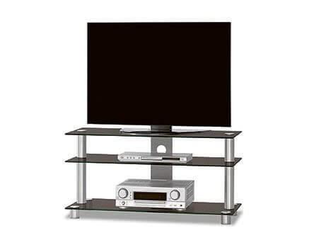 Just-Rack TV1053 Schwarzglas