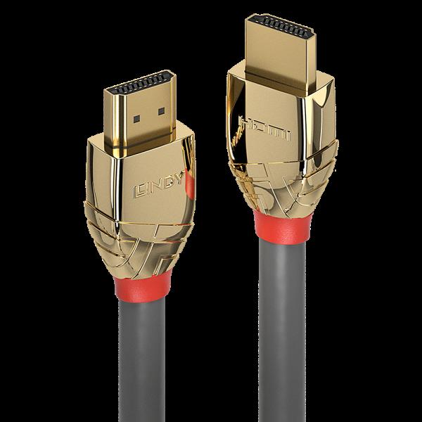 LINDY 7.5m High Speed HDMI Kabel, Gold Line