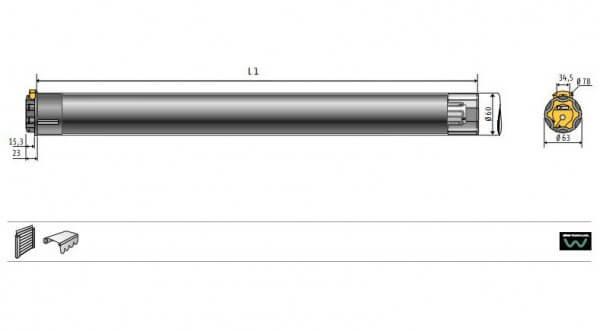 Somfy Vega LT 60 Nr.1162121