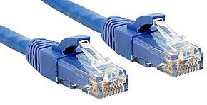 LINDY 30m Cat.6 U/UTP LSZH Netzwerkkabel, blau