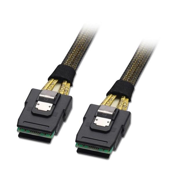 LINDY Internes SATA & SAS Kabel SFF-8087 an SFF-8087, 1m