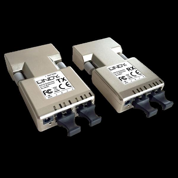 LINDY 500m LWL / Fibre Optic DVI-D Single Link Extender