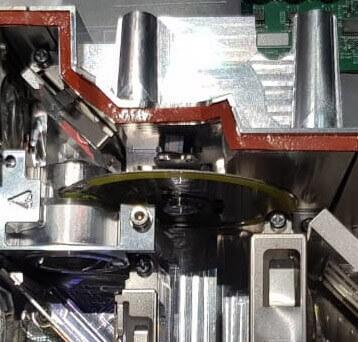 Phosphorrad eingebaut