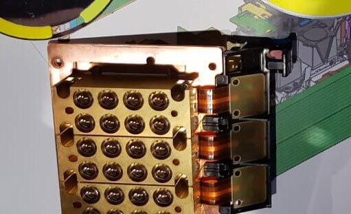 Laser-Einheit eines DLP-Projektors