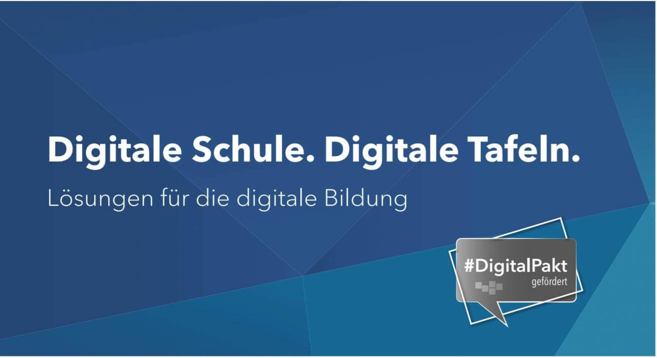 digitale Schule - interaktive Tafeln