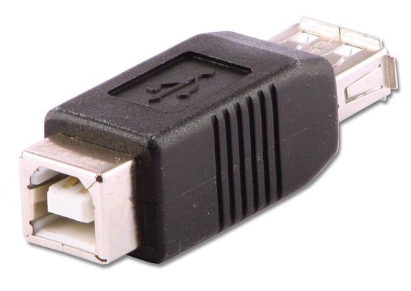 LINDY USB-Adapter Typ A/B Kupplung/Kupplung