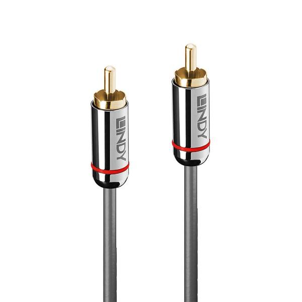 LINDY 10m Digital Phono Audiokabel, Cromo Line