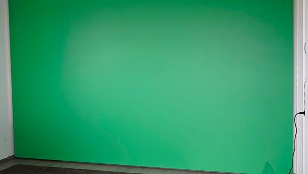 Greenscreen Bildrahmen Alusteck-Leinwand
