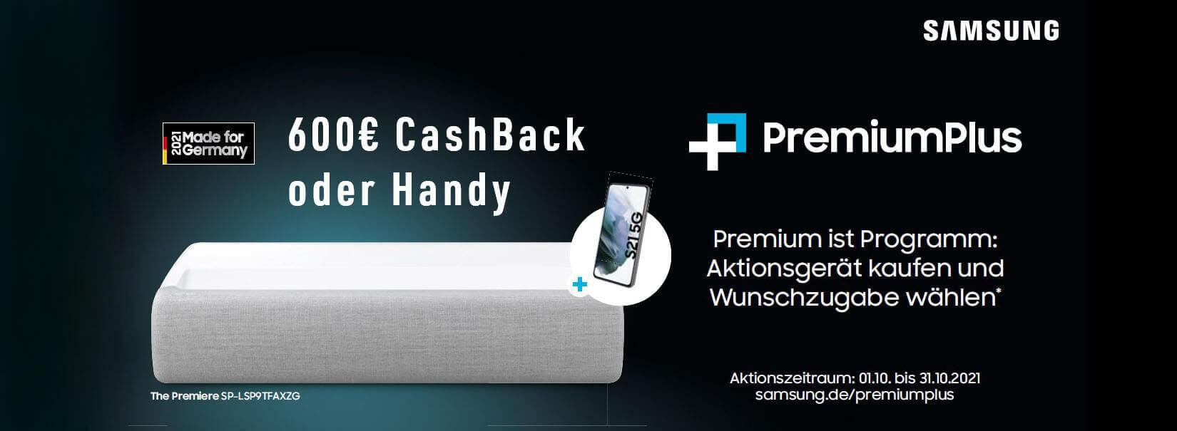 600€ Cashback bei Kauf