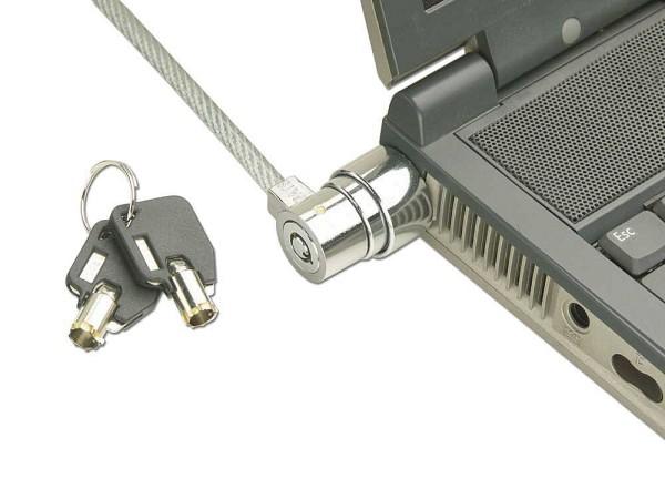 LINDY Diebstahlsicherungs-Kabel für Notebooks für den Kensington-Schlitz