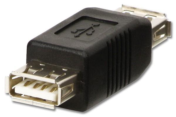 LINDY USB-Adapter Typ A/A Kupplung/Kupplung