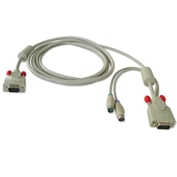 LINDY KVM-Systemkabel 3m für KVM Switch P16, XT-Modelle und KVM Switches der U-Serie