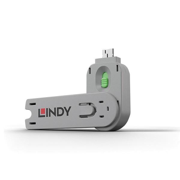 LINDY Schlüssel für USB Port Schloss, grün