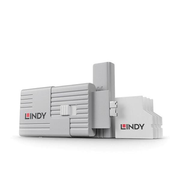 LINDY SD Port Schloss & Schlüssel