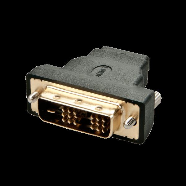 LINDY HDMI Buchse / DVI-D Stecker-Adapter