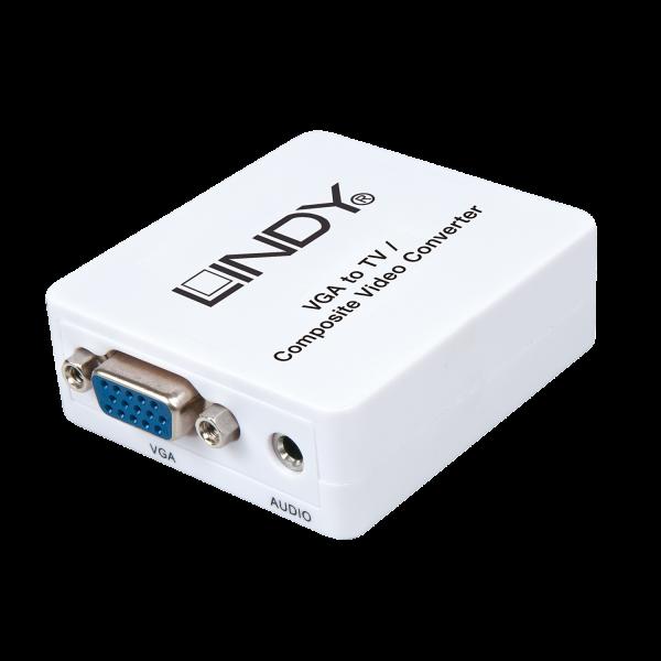 LINDY VGA auf TV / Composite Video Konverter Lite