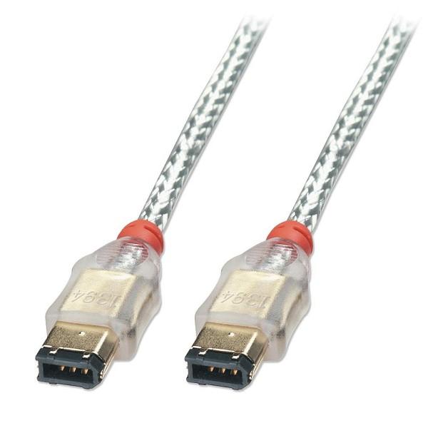 LINDY Firewire Kabel Premium 6-6, 4,5m