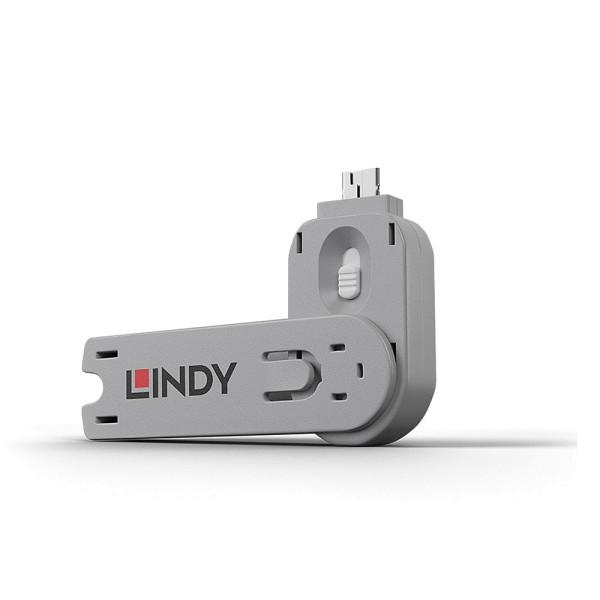 LINDY Schlüssel für USB Port Schloss, weiß
