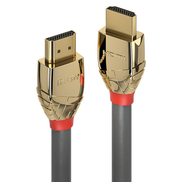 LINDY 0.5m High Speed HDMI Kabel, Gold Line