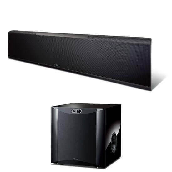 Yamaha YSP-5600 SW Soundbar, Finish: Schwarz