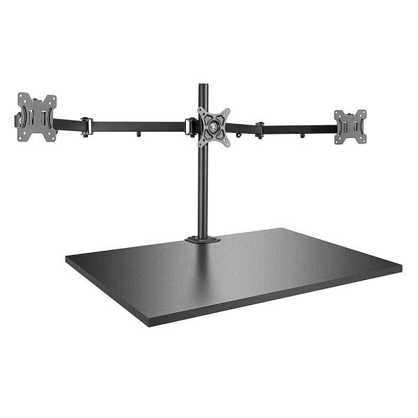 LINDY Tischhalterung für drei Monitore