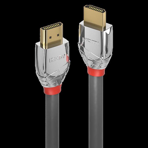 LINDY 7.5m Standard HDMI Kabel, Cromo Line