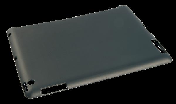 LINDY Premium Back Cover für iPad2 und iPad3, Schwarz, Kunstleder