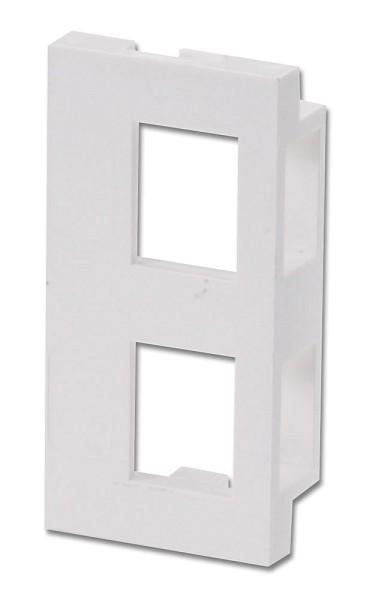 LINDY Snap-In-Modul für 2x Keystone für Wanddosen (4 Stück)
