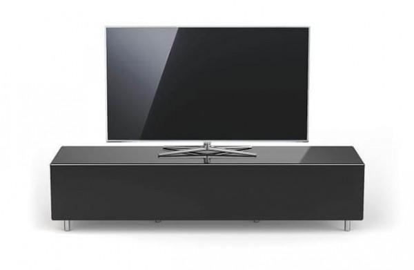 Spectral Just-Racks, breites TV Möbel, schwarz, TV freistehend