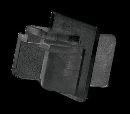 LINDY Staubschutzabdeckung für RJ45 Buchsen, 10 Stück